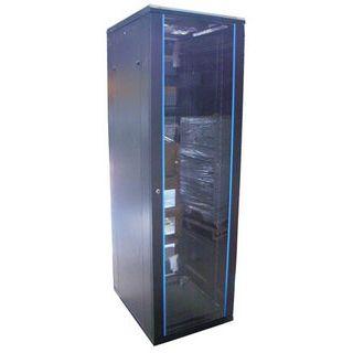 """19"""" (48,26cm) Intellinet 203609 32HE Serverschrank schwarz, 600mm tief"""