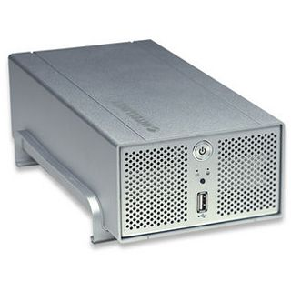 Iintellinet 805895 Gigabit SATA NAS System Silber