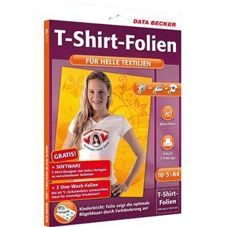 Data Becker T-SHIRT FOLIE HELL