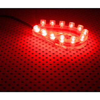 LAMPTRON FlexLight 12cm red LED Kit für Gehäuse