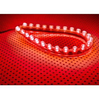LAMPTRON FlexLight 24cm red LED Kit für Gehäuse (LAMP-LEDFL2402)