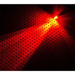 LAMPTRON 5mm rote LED mit Anschlusskabel für 3-Pin Molex