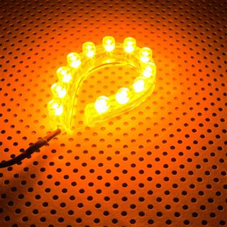 LAMPTRON FlexLight 12cm orange LED Kit für Gehäuse