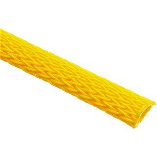 (€3,90*/1m) King Kits 1.00m Gewebeschlauch 6mm Neon Gelb