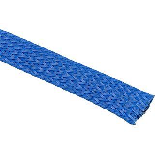 King Kits 1.00m Gewebeschlauch 13mm Blau