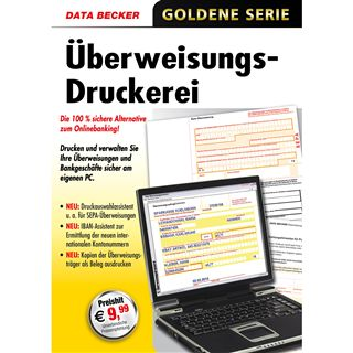 Data Becker Ueberweisungsdruckerei 32 Bit Deutsch Office Lizenz PC