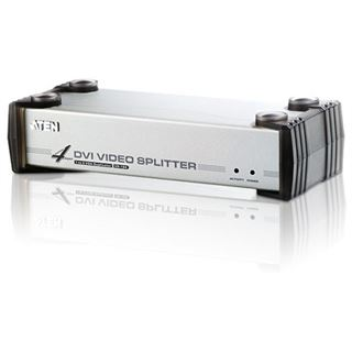 ATEN Technology VS164 4-fach DVI-A/V-Splitter
