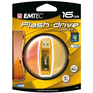 16 GB EMTEC C400 gelb USB 2.0