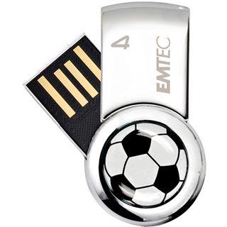 4 GB EMTEC Fußball silber USB 2.0