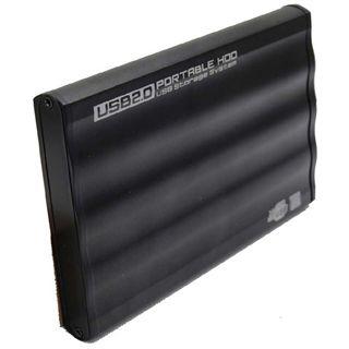 "2.5""(6,35cm) Evertech Gehäuse SATA USB 2.0"