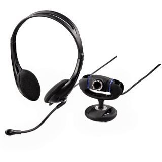 Hama Web Kamera 53924 Set III 1.3 MPixel 1280x1024 Schwarz USB 2.0