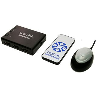LogiLink HD0004 5-fach HDMI-Umschalter manuell