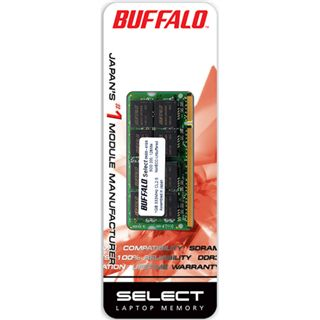 BUFFALO RAM SO-DIMM DDR2 2GB / 667Mhz Select
