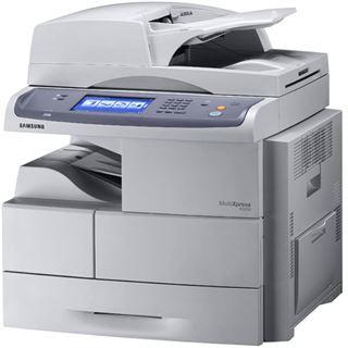 Samsung SCX-6555N S/W Laser Drucken/Scannen/Kopieren/Faxen LAN/USB 2.0