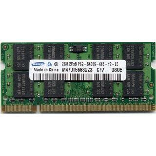 2GB Samsung Value DDR2-800 SO-DIMM CL6 Single