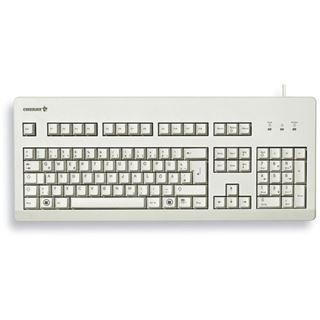 CHERRY G80-3000LPCEU-0 PS/2 & USB Englisch grau (kabelgebunden)