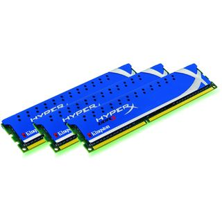 6GB Kingston HyperX DDR3-1600 DIMM CL7 Tri Kit