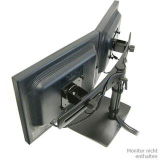Ergotron DS100 Dual-Monitor Desk Stand, Horizontal - Aufstellung