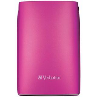 "500GB Verbatim Store and Go Portable 53010 2.5"" (6.4cm) USB 2.0 pink"
