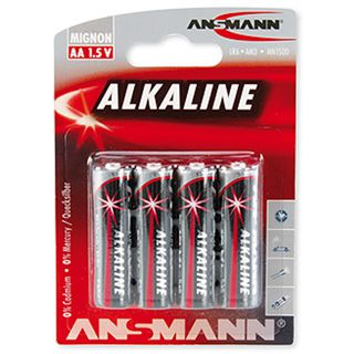 ANSMANN Alkaline AA / Mignon Alkaline 1.5 V 4er Pack