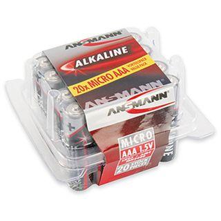 ANSMANN AAA / Micro Alkaline 1.5 V 20er Pack