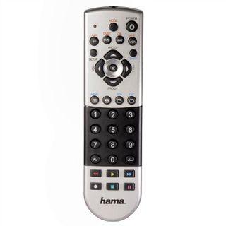 Hama Universal-Fernbedienung 8in1 silber/schwarz
