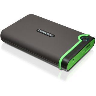 "640GB Transcend StoreJet 25M3 TS640GSJ25M3 2.5"" (6.4cm) USB 2.0 schwarz/grün"