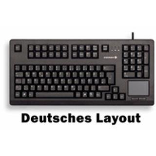 CHERRY G80-11900LTMEU-2 CHERRY MX Black PS/2 Englisch (US) schwarz