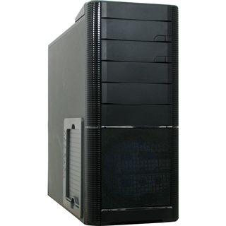Inter-Tech IT-9908 Aspirator Midi Tower ohne Netzteil schwarz