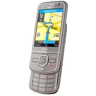 Nokia 6710 Navigator NAVI titanium inkl. Halter CR-111 +