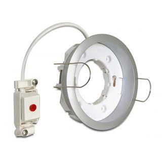 Delock Lighting GX53 Fassung Einbau rund C silber