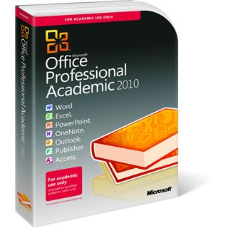 Microsoft Office 2010 Professional EDU Deutsch Retail Box 1 User (PC)