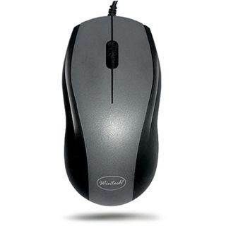 Wintech CM-5025 Optische Maus Schwarz/Silber PS/2