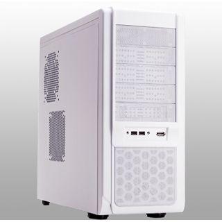 ATX Xigmatek Midgard White Knight Midi Tower o.NT Weiß