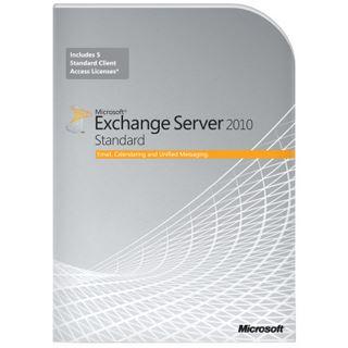 Microsoft Exchange Server 2010 64 Bit Englisch Zusatzlizenzen 5 User CALs