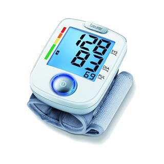 Beurer vollautomatisches Blutdruckmessgerät weiß