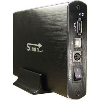"Inter-Tech SinanPower G-3500 3.5"" (8,89cm) eSATA/USB 2.0 schwarz"