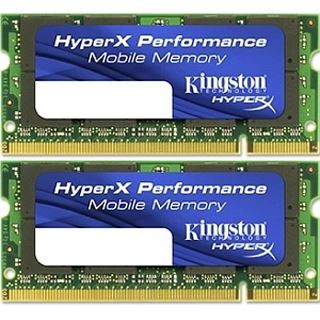 4GB Kingston HyperX DDR3-1600 SO-DIMM CL9 Dual Kit