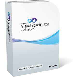 Microsoft VisualStudio 2010 Professional Deutsch Upgrade Retail Box (PC)