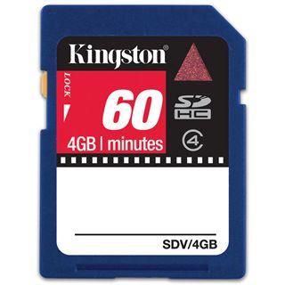 4 GB Kingston Video SDHC Class 4 Retail