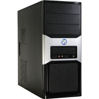 Inter-Tech Starter Case 6 Midi Tower 500 Watt schwarz