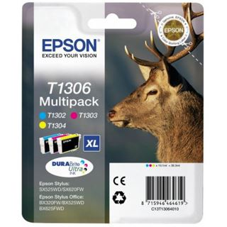 Epson Tinte C13T13064010 cyan, magenta, gelb