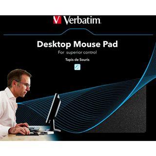Verbatim Mauspad Desktop Schwarz USB 2.0