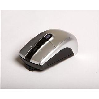 Verbatim Wireless Notebook Laser Maus Silber USB
