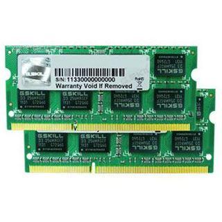 8GB G.Skill ValueRAM DDR3-1066 SO-DIMM CL9 Dual Kit