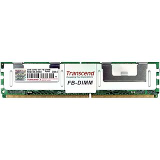 2GB Transcend TS256MFB72V6U-T DDR2-667 FB DIMM CL5 Single
