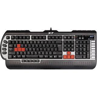 A4Tech X7 G800MU Tastatur Schwarz Englisch PS/2