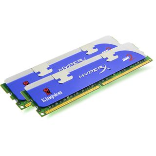4GB Kingston HyperX blu DDR3-1600 DIMM CL9 Dual Kit