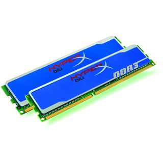 4GB Kingston HyperX Blu XMP DDR3-1600 DIMM CL9 Dual Kit