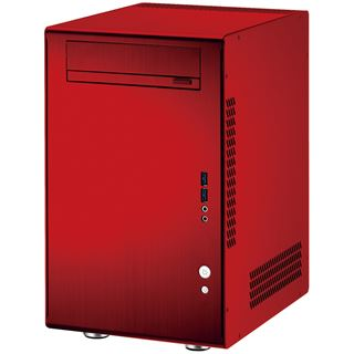 Lian Li PC-Q11R ITX Tower ohne Netzteil rot